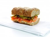 Fotografía de alimentos sandwich