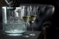 fotografía de copas de champagne