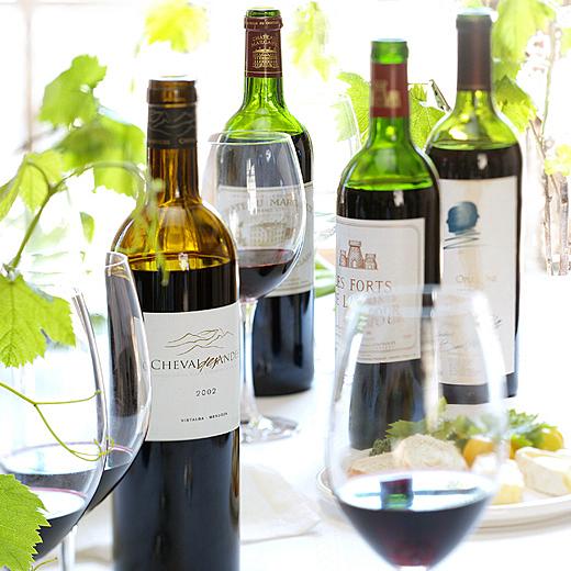 bottles of wine photography