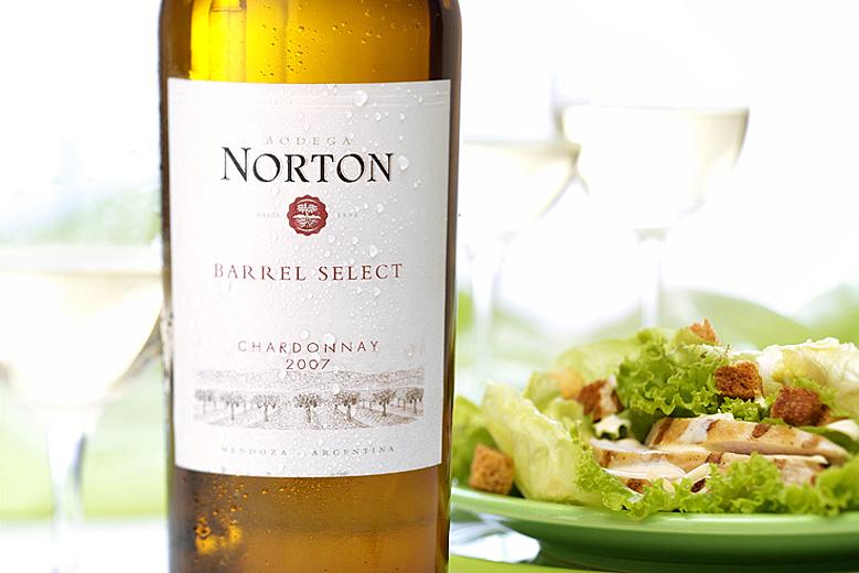 fotografía de vino norton