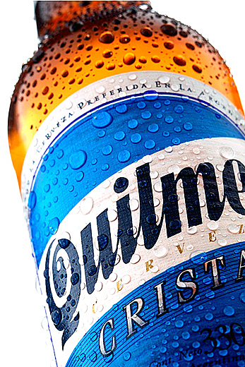 beer quilmes photography