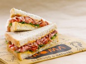 Food photography sandwich Havanna