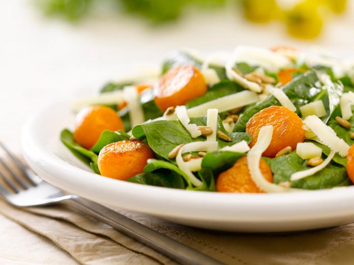 fotografía de alimentos ensalada