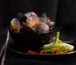 Wok Clam Mariana Hernandez Gastronomy Photography