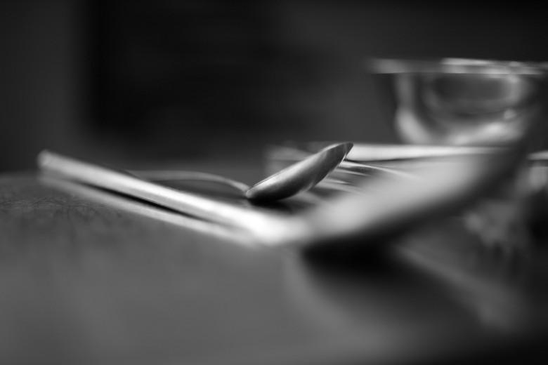 Fotografía de utensilios de cocina cuchara