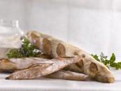 fotografía de alimentos pan