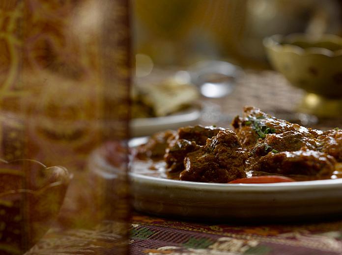 Comida Indú Gourmet.com Roganjosh fotografía de alimentos