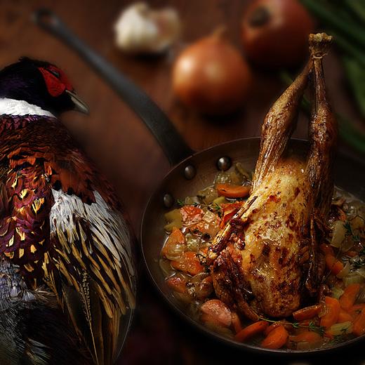 Pheasant Gourmet Rodrigo Ginzuk Gastronomy Photography