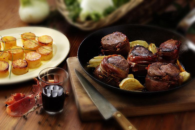Lomo Panceta Rodrigo Giznuk fotografía de gastronomía