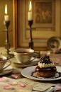 Té Postre Gourmet Gastronomía fotografia de alimento