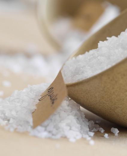 fotografía de alimentos sal