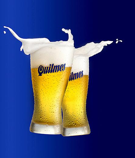 Splash fotografía de cerveza