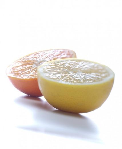 fotografía de alimentos cítricos
