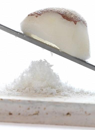 fotografía de alimentos coco