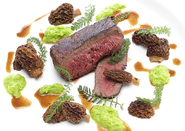 Mauro Colagreco Ojo de bife Carne Mirazur Fotografía de Gastronomía