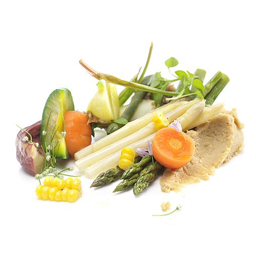 Maria Barrutia Vegetales Gourmet Fotografía de alimentos
