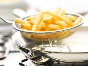 Fotografía de alimentos papas fritas