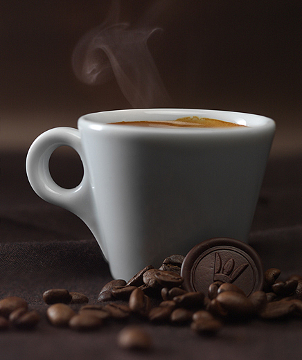 Fotografía de alimentos café Volta