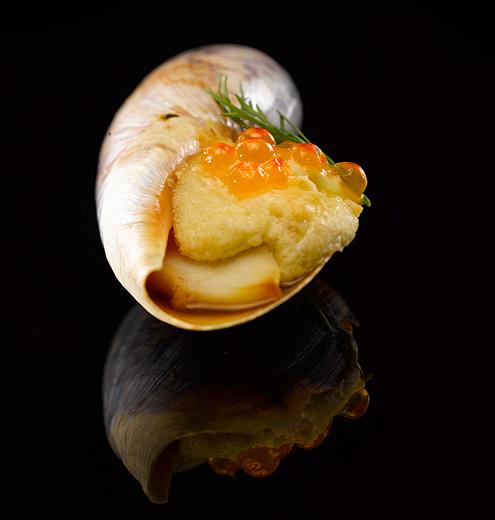 Caracol Huevas Iwao Fotografía de gastronomía