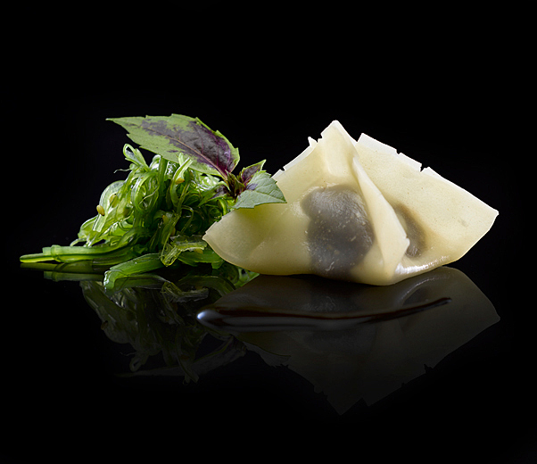 Dim Aduki Tamarindo Iwao fotografía de gastronomía