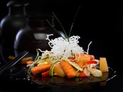 Salmón Wok Editorial Planeta Fotografía de gastronomía