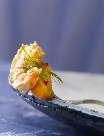food photography prawn